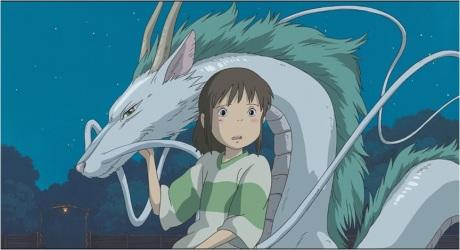 Haku as dragon
