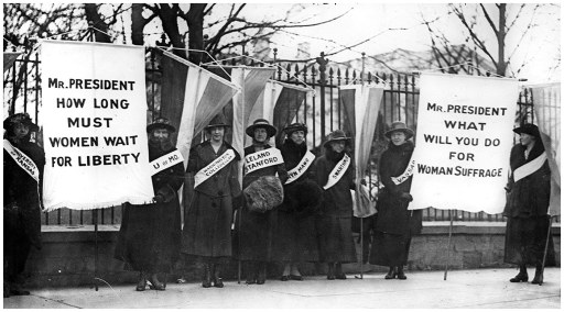 Fig. 1: Feminist reformers in the early part of the 20th century attempted to change perceptions of female sexuality and equality.